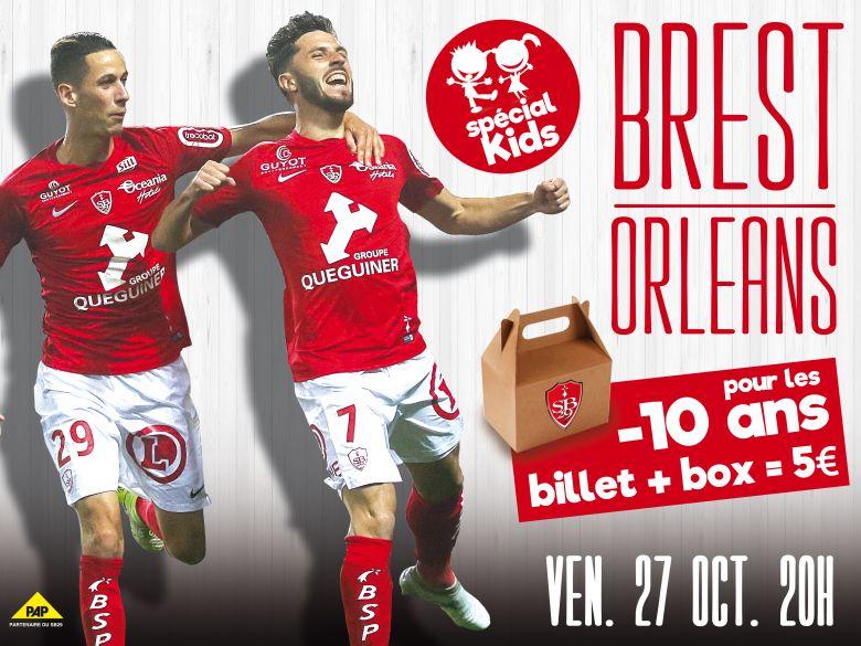 Billetterie Brest / Paris FC