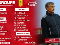 Voici les 19 joueurs Brestois retenus par Olivier Dall'Oglio pour la rencontre #SB29SDR dans le cadre de la 3ème journée de Ligue 1 Conforama  ⚔